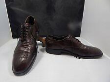 Vintage(?) Men's Freeman Free-Flex Cordovan Leather Wing Tip Oxfords Size 9.5 C