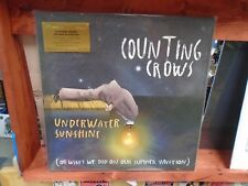 Counting Crows Underwater Sunshine 2x LP NEW YELLOW Colored 180g #'d vinyl