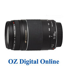 New Canon EF 75-300mm F4-5.6 III USM Lens 650D 60D 7D 1 Year Au Wty