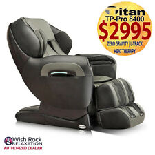 TITAN TP-Pro 8400 Massage Chair (GREY) L-Track|Zero Gravity|Foot Rollers