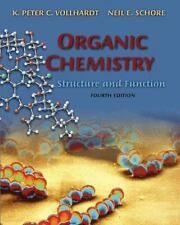 Organic Chemistry, Fourth Edition: Structure and Function, K. Peter C. Vollhardt