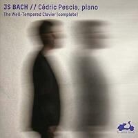 Cédric Pescia - JS Bach: The Well-Tempered Clavier (Complete) (NEW 4CD)