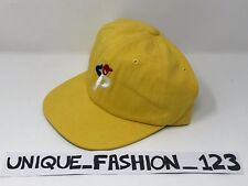 PALACE SKATEBOARDS SS16 BUNNING P MAN STADIUM 6 PANEL CAMP CAP P HAT YELLOW