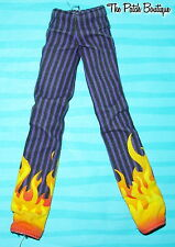 MONSTER HIGH 1ST ORIGINAL HOLT HYDE BOY DOLL REPLACEMENT FLAME PANTS JEANS ONLY