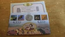 "RARE MILLENNIUM  BENHAM UNC CROWN COIN COVER ""CHANGING LAND"" ONLY 4000"