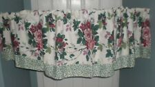 Waverly Pleasant Valley Fairfield Valance Colonial Filigree Berries Cotton 68x18