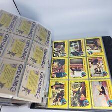 Huge Lot Of Vintage Cards 50+ pages very cool! Gremlins, V, Shadow, Marvel