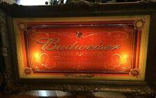 Amazing 1999 Anheuser-Busch BUDWEISER Millennium Beer Sign Bar Light Man Cave