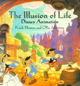 The Illusion of Life: Disney Animation by Frank Thomas (English) Hardcover Book