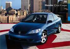 Advertising Postcard 2005 Honda Civic Coupe