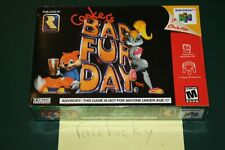 Conker's Bad Fur Day (N64 Nintendo 64) NEW SEALED NEAR-MINT, GORGEOUS & RARE
