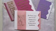 Einladungskarten KOMMUNION/KONFIRMATION Danksagungen