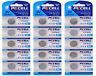15 x CR1632 3V Lithium Batterie 120 mAh ( 3 Blistercard a 5 Batterien  PKCELL)