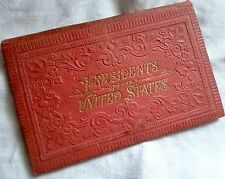 """""""PRESIDENTS OF THE UNITED STATES"""" W/ ENGRAVED PORTRAITS & SIGNATURES BOOK, RARE"""
