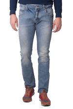 ARMANI JEANS Blue Jeans Size W32 L34 Faded Dirty Look Regular Leg Slim RRP €219