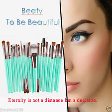 NEW 15pcs Makeup Brush Set tools Make-up Toiletry Kit Wool Make Up Brush Set