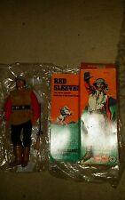 VINTAGE Marx Toys 1970 S LONE RANGER ROSSO maniche Action Figure Gabriel 1975