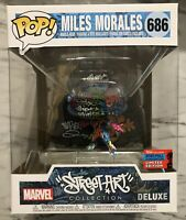 Funko POP! Miles Morales #686 Spider-Man Marvel Street Art NYCC 2020 Exclusive