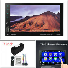 "7"" Car Bluetooth capacitive screen mobile phone w/ reversing car MP5 player Kit"