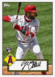 2021 Topps MLB Digital NFT 1952 Redux Jo Adell 367/600 Event Exclusive RC Rookie