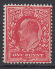 SG 280 1d Deep Rose Red M7 (2)  in Post Office fresh unmounted mint condition .