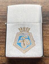 More details for zippo lighter 1992 royal fleet auxiliary ship rfa brambleleaf falklands navy