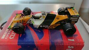 Minardi M189P.L.Martini 5eme British GP. Tameo kit hand built no Spark BBR Meri