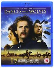 DANCES WITH WOLVES (1990) BLU RAY  KEVIN COSTNER  REGION FREE
