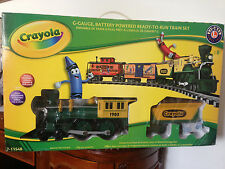 Lionel Crayola Train Set G Scale Battery Operated 7-11548