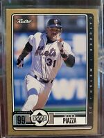 1999 Upper Deck Retro Gold Mike Piazza 42/250 New York Mets