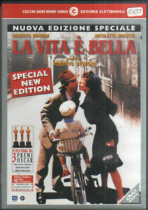 LA VITA E' BELLA Di Roberto Benigni DVD USATO