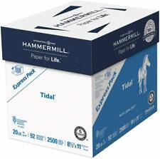 Hammermill Printer Paper Tidal 20lb Copy Paper 8.5x11 2,500 Sheets, Express Pack