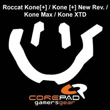 Corepad Skatez Roccat Kone [+] New Rev. Max XTD Replacement Teflon® mouse feet