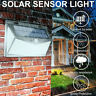 208 LED Solar Power PIR Wall Lights Garden Outdoor Motion Sensor Security Lamp *