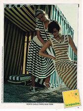 PUBLICITE ADVERTISING 015  1979  LA SQUADRA   tenues robes de plage