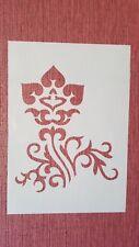 2427 Schablonen Muster Wandtattoo Stencil Leinwand Textilgestaltung Airbrush