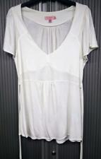 Ted Baker - Ivory Tie Back Top - Good 4 Summer - Loose Cap Sleeves - Size 4