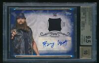 2016 Topps WWE Undisputed Bray Wyatt Auto Relic Blue /25 BGS 9.5 Fiend