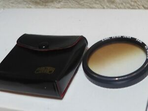 Carl Zeiss Jena 58SL GC-BROWN Filter with case graduated