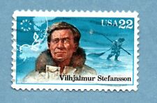 USA stamp 1986 Polar Explorers 22c Vilhjalmur Stefansson SG2226