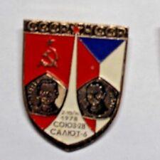 Russian SOVIET SPACE PROGRAM PIN BADGE, 1978