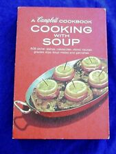 VINTAGE 1960 COOKING WITH SOUP CAMBELL COOKBOOK 608 OLDER RECIPES LIKE GRANDMA