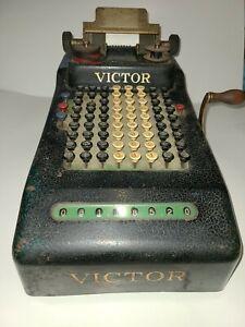 Vintage Victor Cash Register Manual Operated
