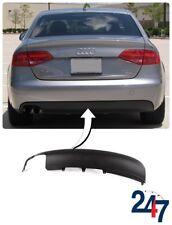 NEW AUDI A4 S4 B8 2008 - 2011 REAR BUMPER BLACK DIFFUSER 8K0807521 01C