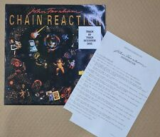 "JOHN FARNHAM CHAIN REACTION 12"" ALBUM RADIO INTERVIEW DISC WITH QUESTIONS"