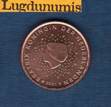 Pays Bas 2001 - 5 centimes d'Euro - Pièce neuve de rouleau - Netherlands