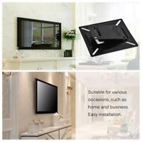 Flachbildschirm LCD TV Monitor Wandhalterung Ständer Halter Schwarz 1Stk