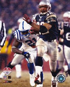 Antowain Smith New England Patriots 2003 AFC Championship Game 8x10 Photo
