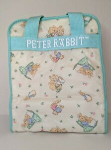 Vintage Baby Diaper/Bottle Bag Peter Rabbit Beatrix Potter Tote Small Easy Clean