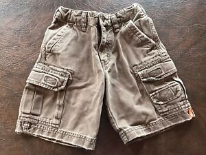 Boy's Size 4 MOSSIMO SUPPLY CO. Shorts Cargo Heavy  Duty  Brown
